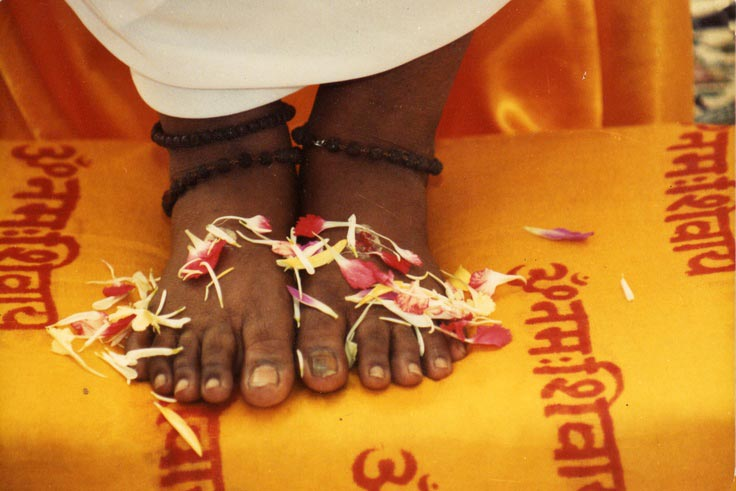 About Sri Avinash Do - The feet of Sri Avinash