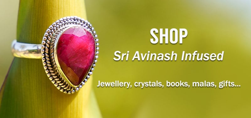 Sri Avinash Infused Shop - Healing Jewelry, crystals