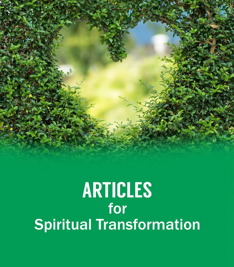 Spiritual transformation articles