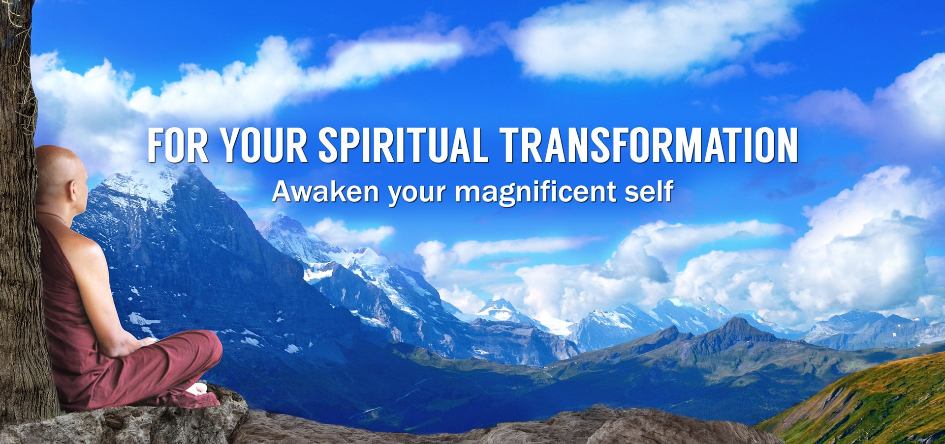 For your spiritual transformation - awaken your magnificent self