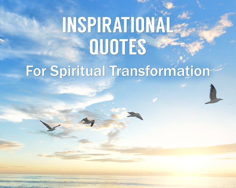 Enlightenment Quotes - Related Quotes: Spiritual Transformation Quotes