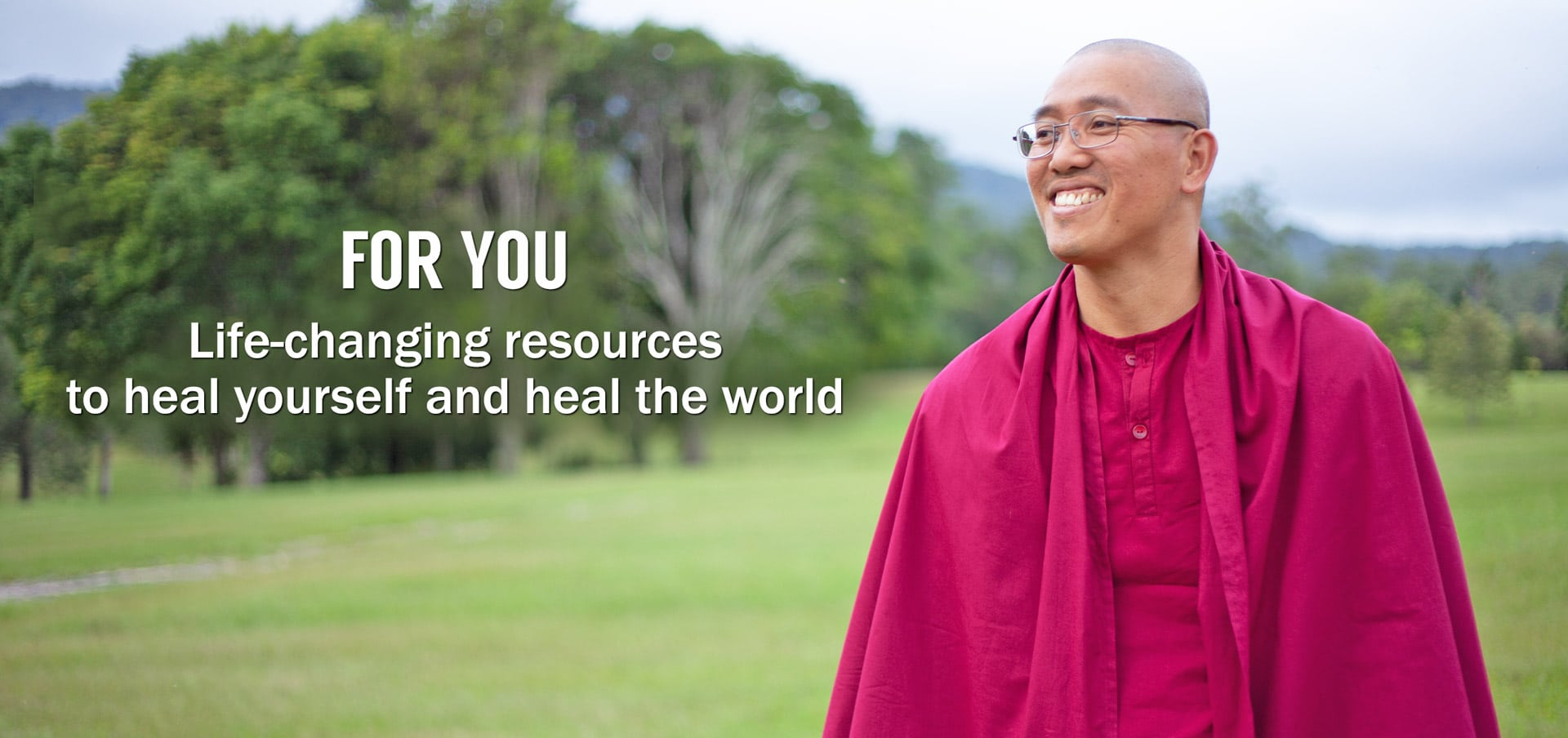 Article: For you - life changing resources to heal yourself and heal the world