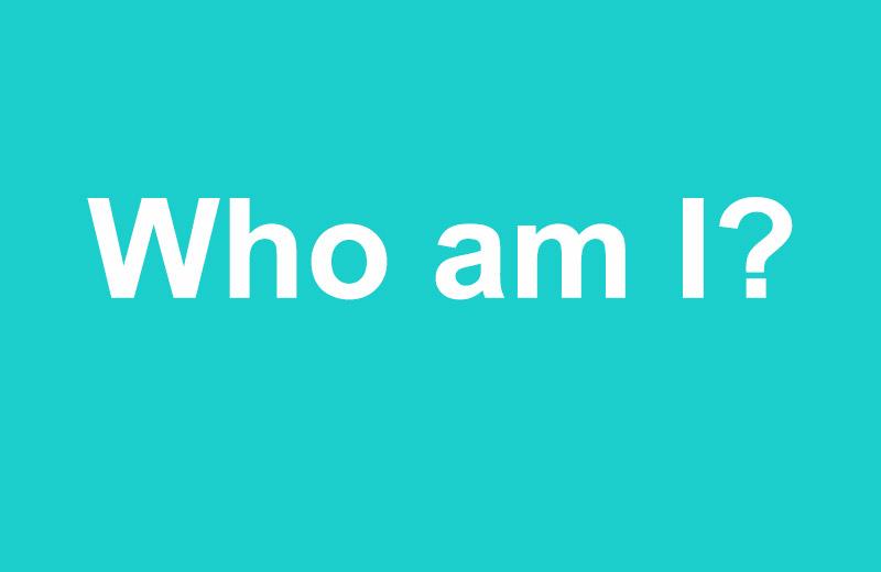 Article: Who am I?