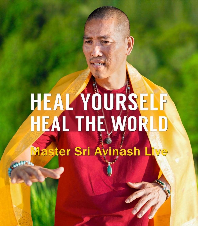 FREE Heal Yourself, Heal the World Webinars